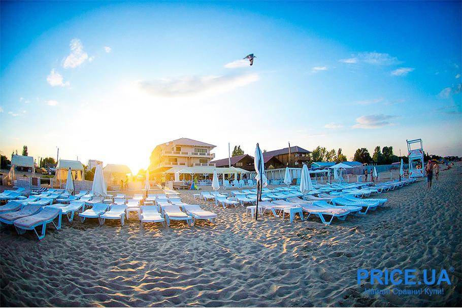 Топ лучших пляжей Украины. Грибовка