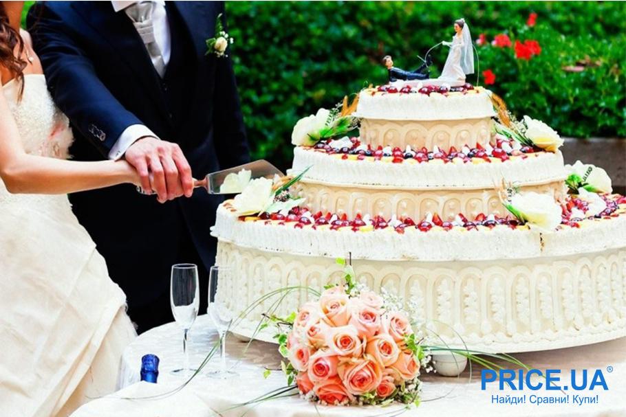 Свадебный торт: правила выбора. Размер определется количеством гостей