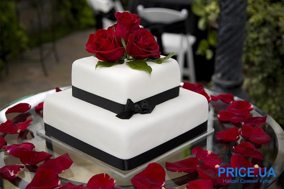 Свадебный торт: правила выбора. Геометрия
