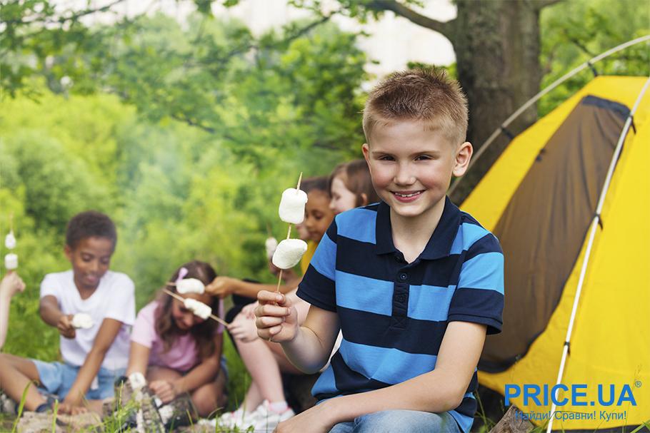 Что главное при выборе детского лагеря? Палаточный вариант