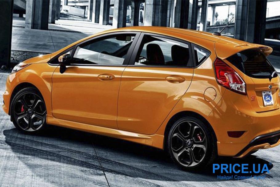 Автомобили для города: 6 лучших. Ford Fiesta