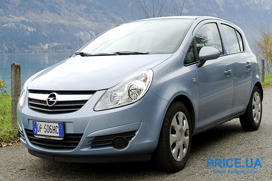Автомобили для города: 6 лучших. Opel Corsa