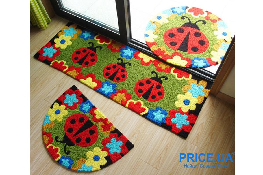 Выбрать коврик в детскую: плюсы искусственных материалов