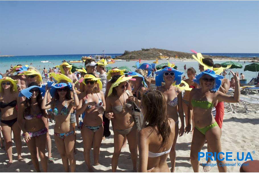 Лучшие тусовочные места для молодежи на побережьях. Айя-Напа, Кипр