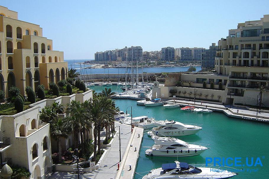 Лучшие тусовочные места для молодежи на побережьях. Сент-Джулиас, Мальта