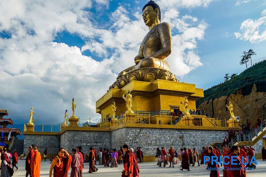 Лучшие экзотические страны. Бутан