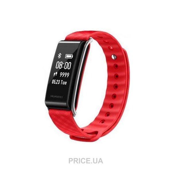 Подарки школьнику по случаю каникул. Смарт-браслет Huawei AW61 Red