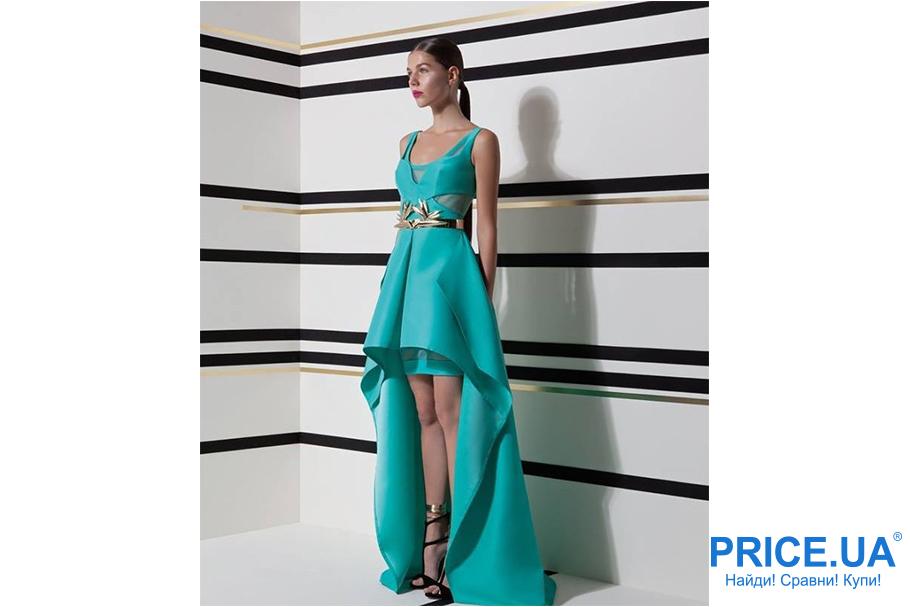 Самые модные луки для выпускницы: 9 вариантов платьев. Золотой декор