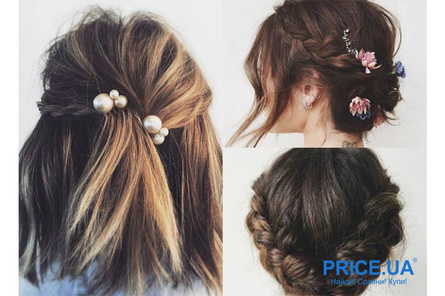 12 модных образов-укладки волос для выпускного. Вариации с короткими волосами