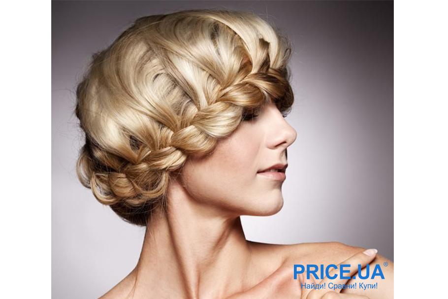 """12 модных образов-укладки волос для выпускного. Французская коса и корзинка"""""""