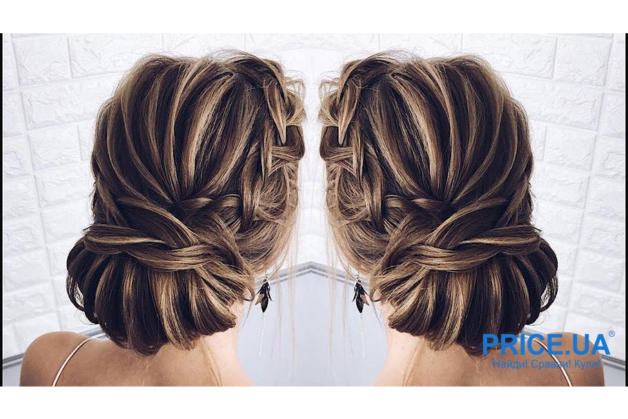 12 модных образов-укладки волос для выпускного. Низкий пучок