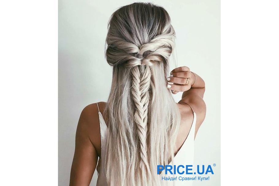 12 модных образов-укладки волос для выпускного. Плетения в стиле романтик