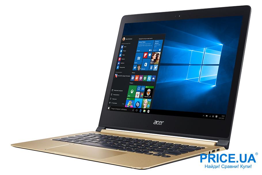 Топ-10 новейших ноутбуков 2019. Acer Swift 7