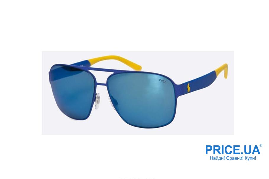 Модные тренды мужских солнцезащитных очков. Цветные варианты