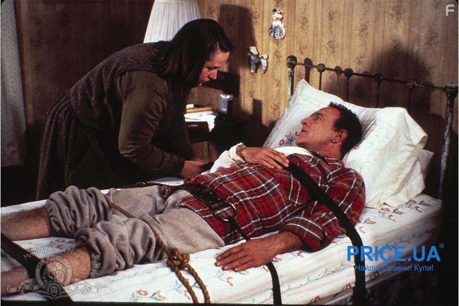 Самые крутые фильмы про психопатов. Мизери, (Misery, 1990)