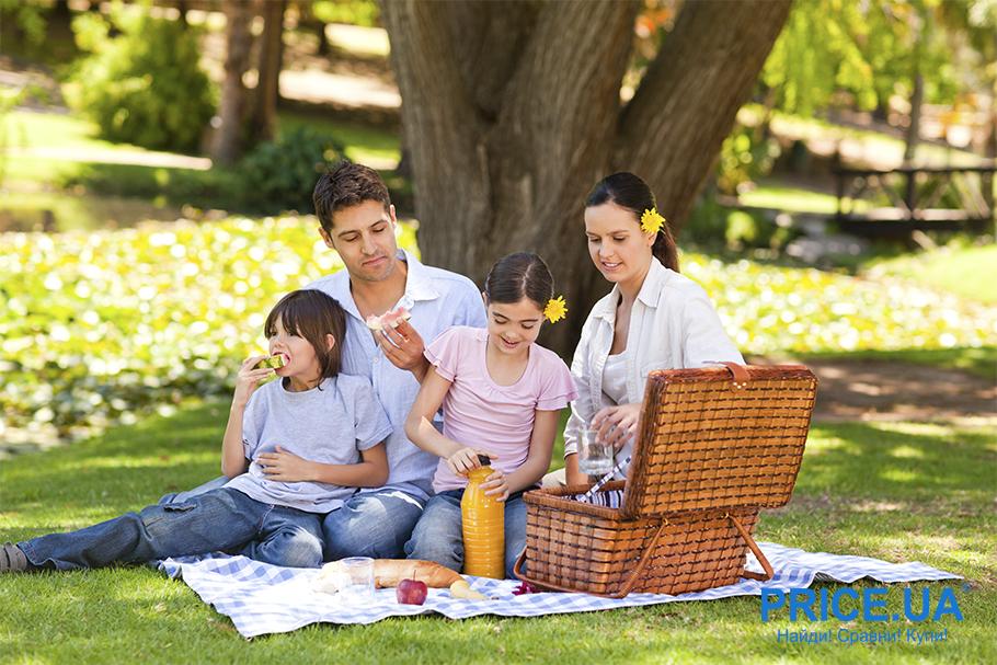 Лето в городе: чем занять ребенка на каникулах? Пикники