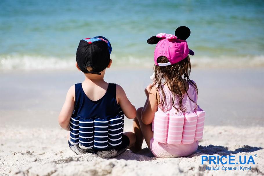 На море с ребенком: список важный вещей.  Купальник-поплавок