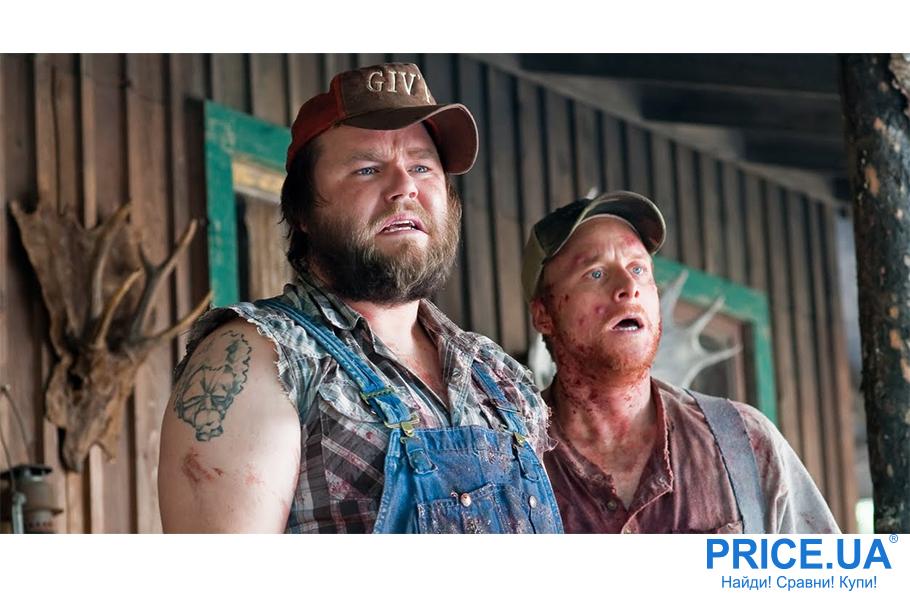 Хиты трешевых фильмов: список фильмов для вечера с друзьями. Убойные каникулы (Tucker and Dale vs Evil), 2010