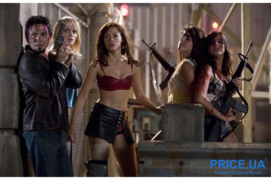 Хиты трешевых фильмов: список фильмов для вечера с друзьями. Планета страха (Planet Terror), 2007