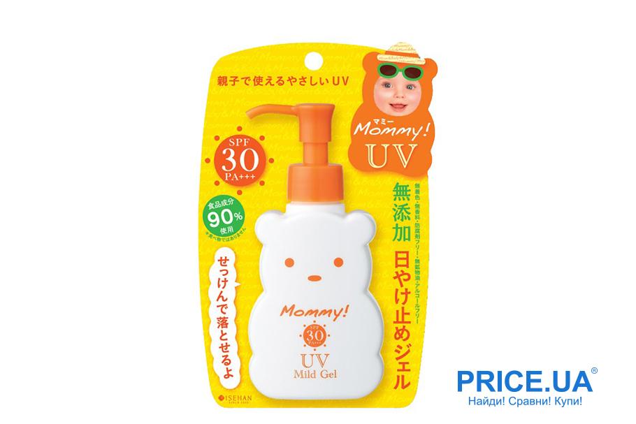 Лучшие кремы с UV-фильтрами для детей. Гель солнцезащитный детский Isehan