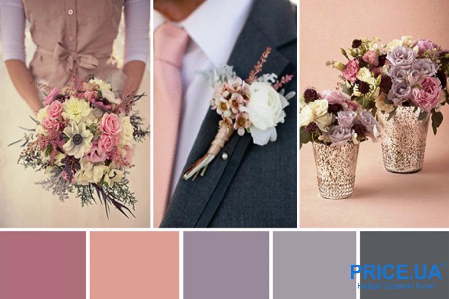 Цвета в свадьбе: правила нарядов