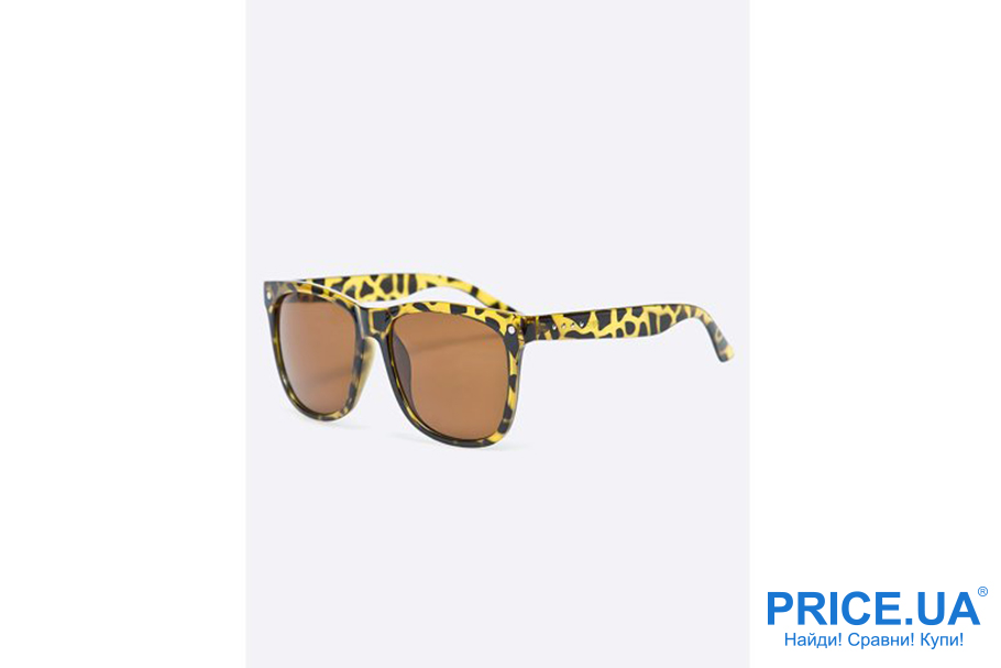 Солнцезащитные очки для женщин: что модно в 2019? Анимал-принт