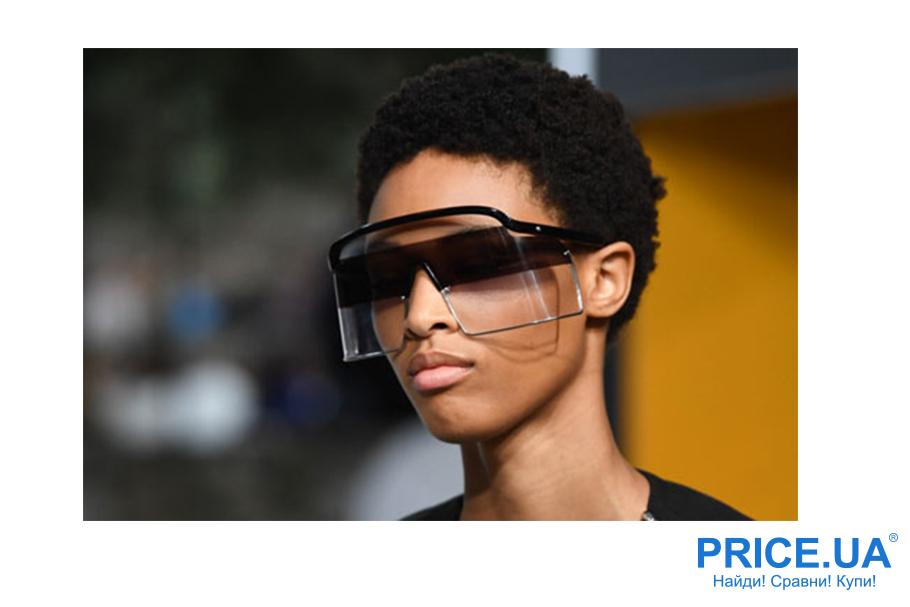 Солнцезащитные очки для женщин: что модно в 2019? Очки на пол-лица
