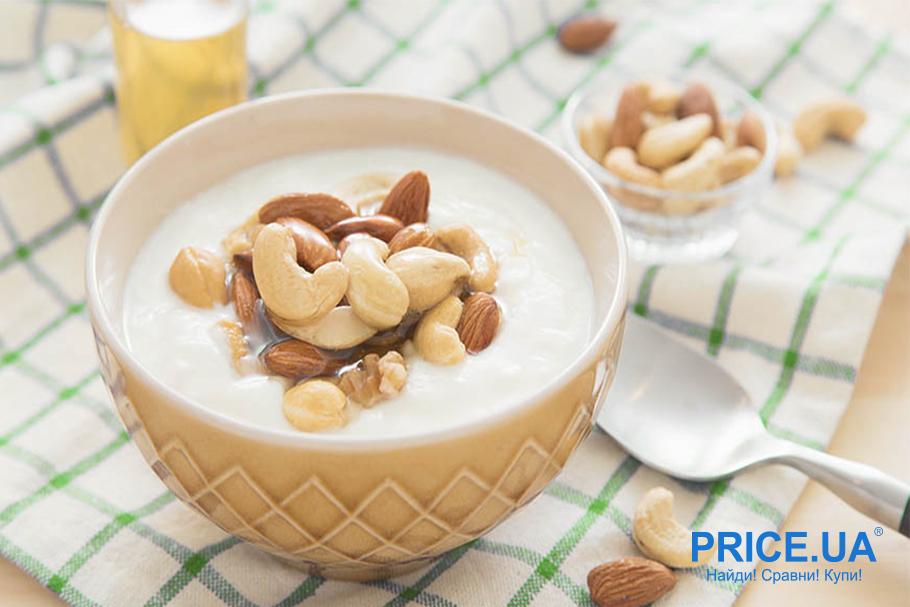 Что такое безмолочный йогурт? Из кешью