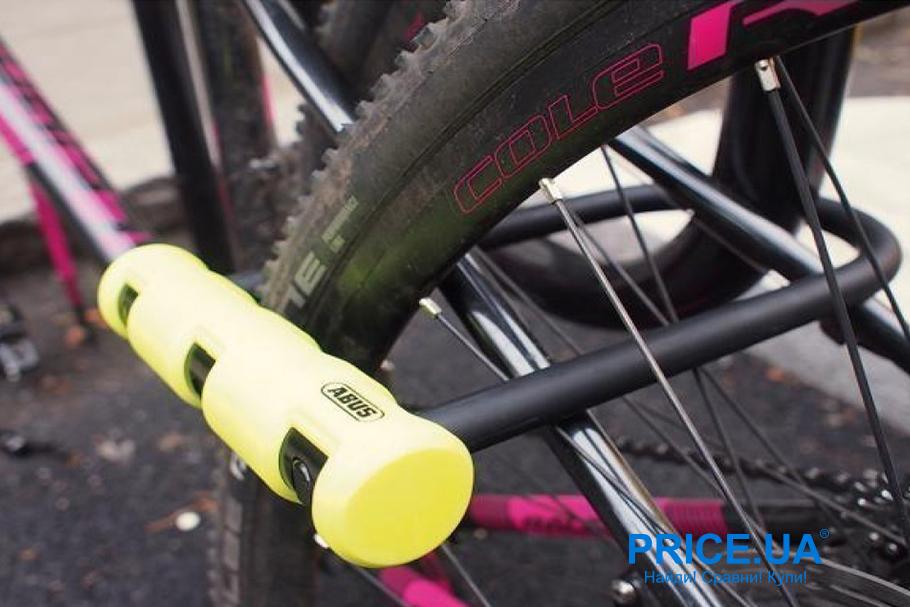 Велотовары для безопасности и комфорта:самое нужное велосипедисту.  Велозамок