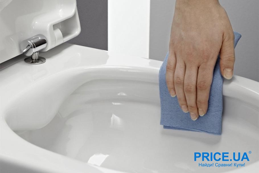 Как эффективно убрать ванную. Совет по сантехнике