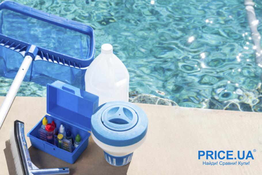 Уход за бассейном: лайфхак. Средства предотвращения зацветания воды