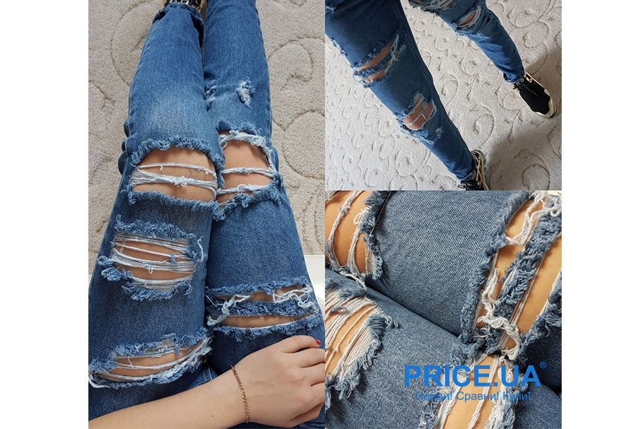 Список уже не модных трендов. Рваные джинсы