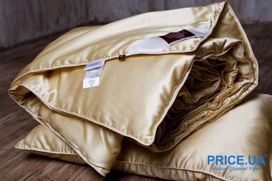 Как выбрать летнее одеяло. Шелковое