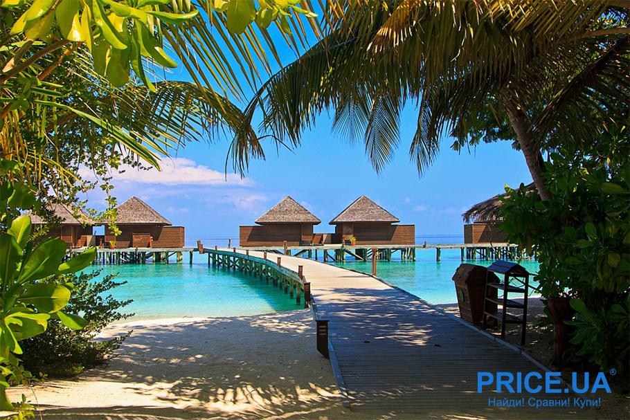 Топ романтических мест для медового месяца. Мальдивы