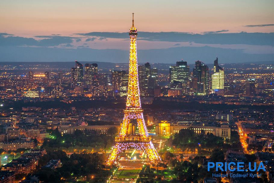 Топ романтических мест для медового месяца. Париж