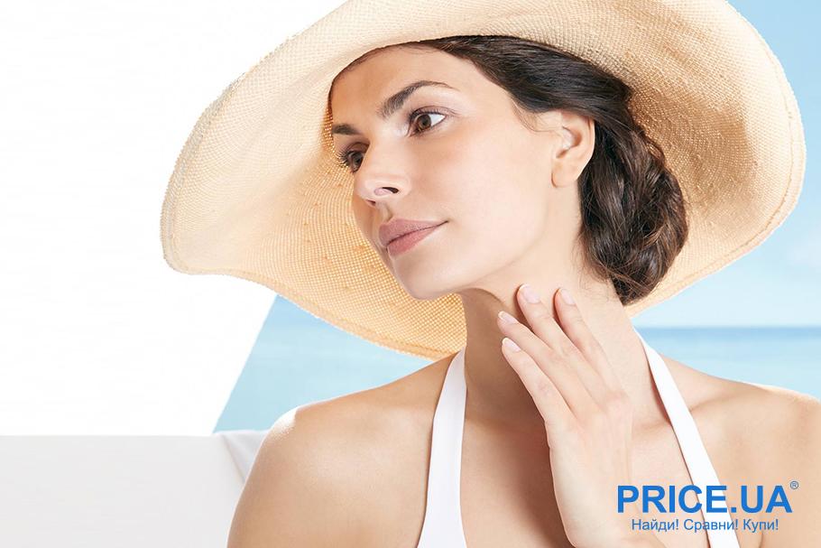 Увлажнение летом кожи: советы. Прячемся от солнца