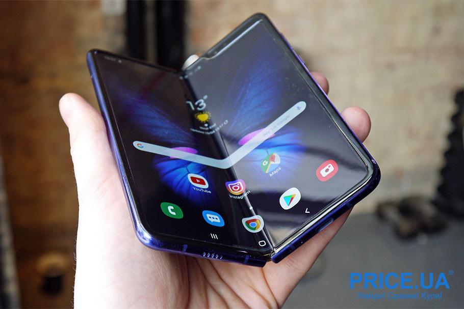 Новинки смартфонов 2019: топ-10. SAMSUNG GALAXY FOLD
