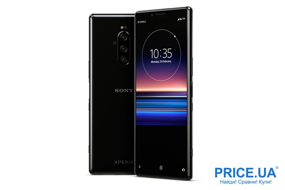 Новинки смартфонов 2019: топ-10.SONY XPERIA 1