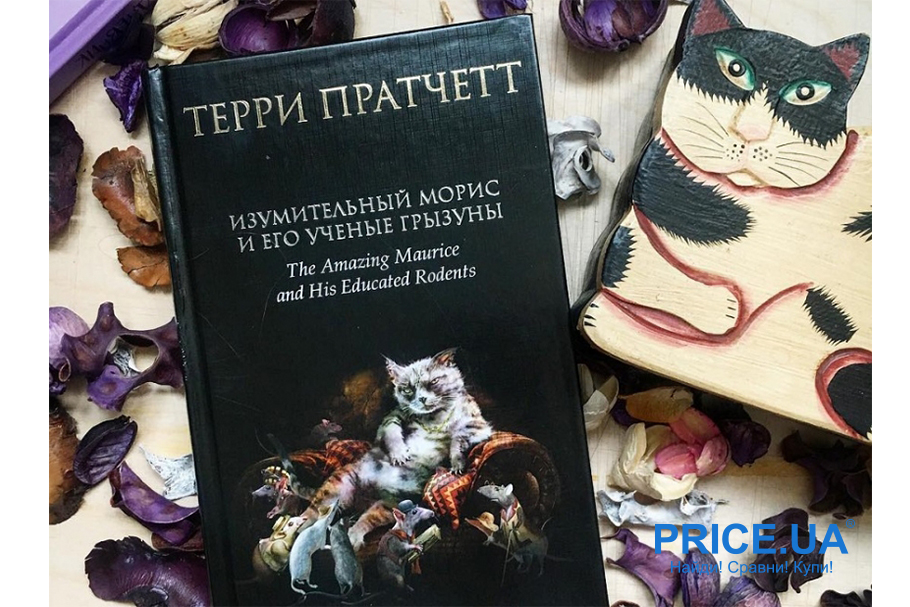 """Книги на каникулах: лучшие бестселлеры. """"Изумительный Морис и его ученые грызуны"""", Терри Пратчетт"""