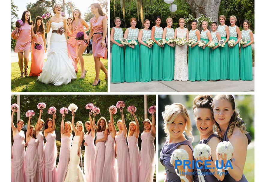 Подготовка к свадьбе: какой наряд выбрать подружкам невесты? Единый стиль- вот что эффектно