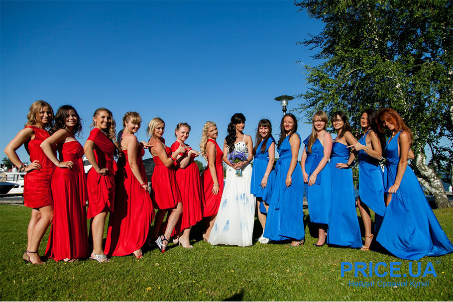 Подготовка к свадьбе: какой наряд выбрать подружкам невесты? Гид по модным цветам