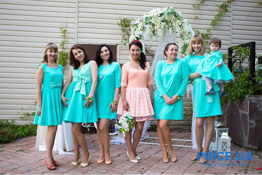 Подготовка к свадьбе: какой наряд выбрать подружкам невесты? Вопрос длины и отсуствия шлейфа