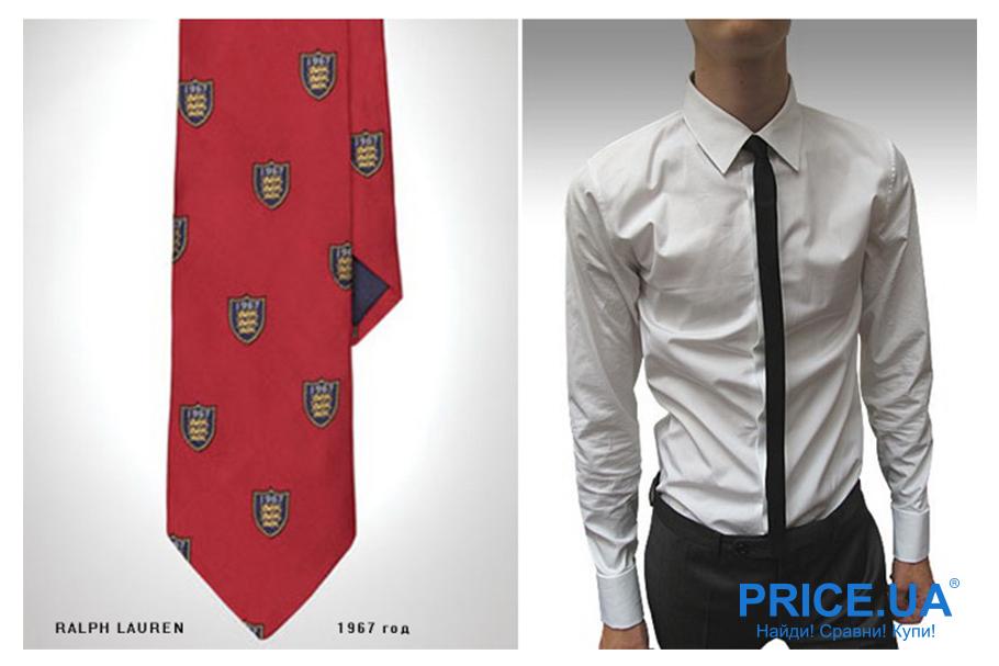 Ralph Lauren: история брена. Революционные галстуки