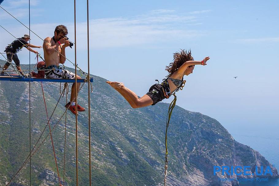 Бюджетный отпуск: варианты отдыха. Rope jumping