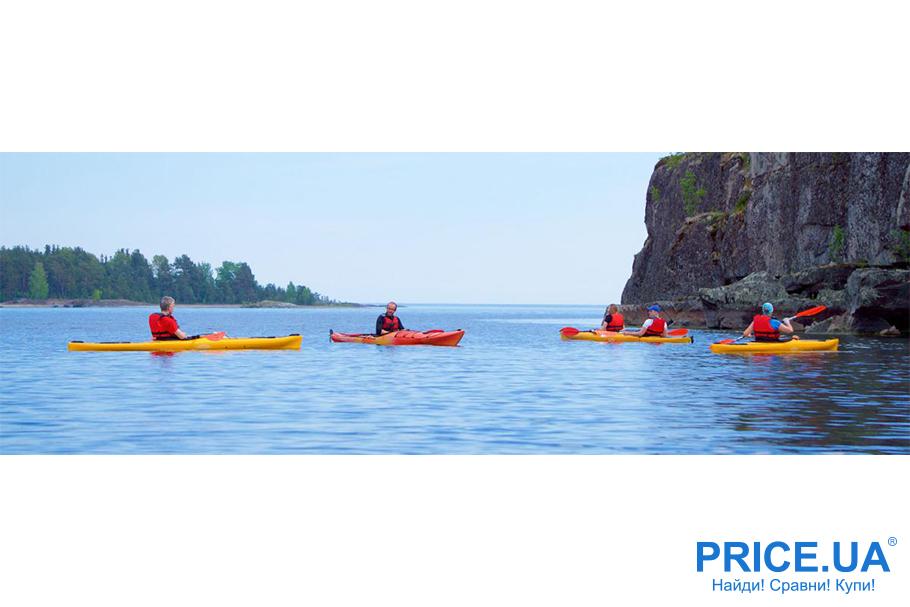 Бюджетный отпуск: варианты отдыха. Байдарки