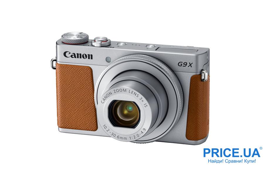 Фотокамера для путешествий: какую выбрать. Компакт Canon PowerShot G9 X Mark II