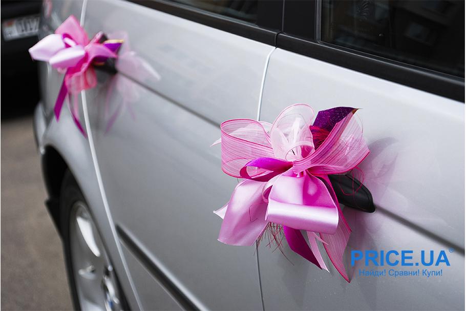 Свадьба 2019: идеи декора свадебного кортежа. Яркие ленты