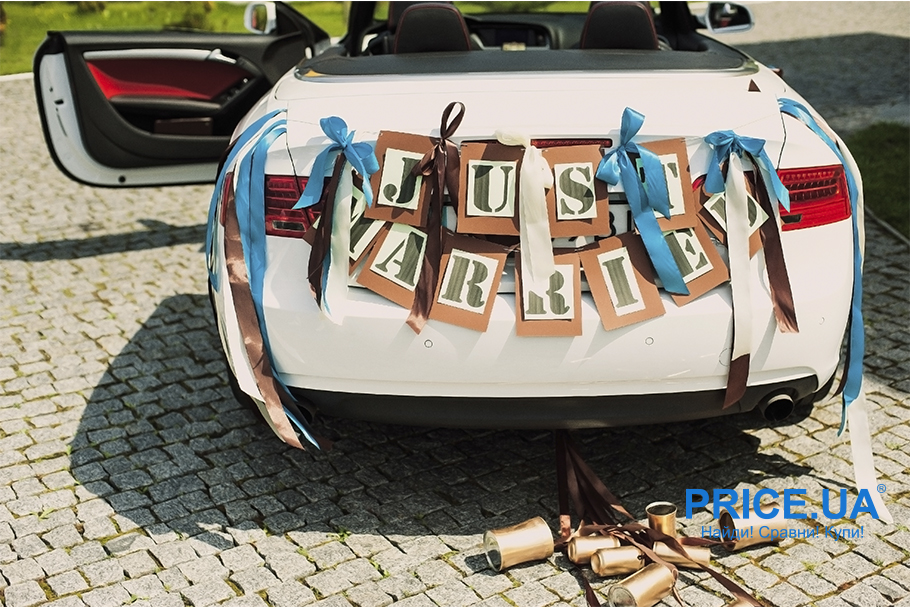 Свадьба 2019: идеи декора свадебного кортежа. Спецномера