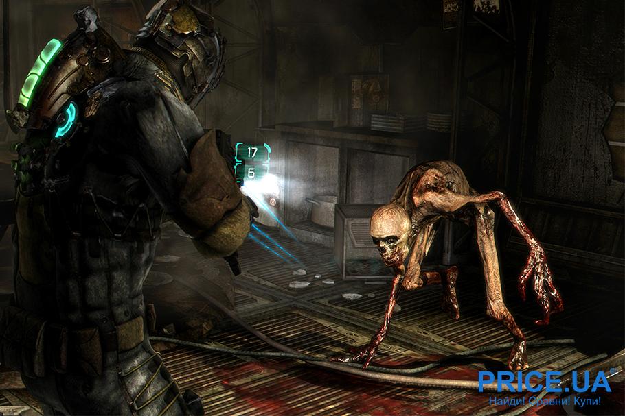 Лучшие 9 видеоигр про зомби. Dead Space