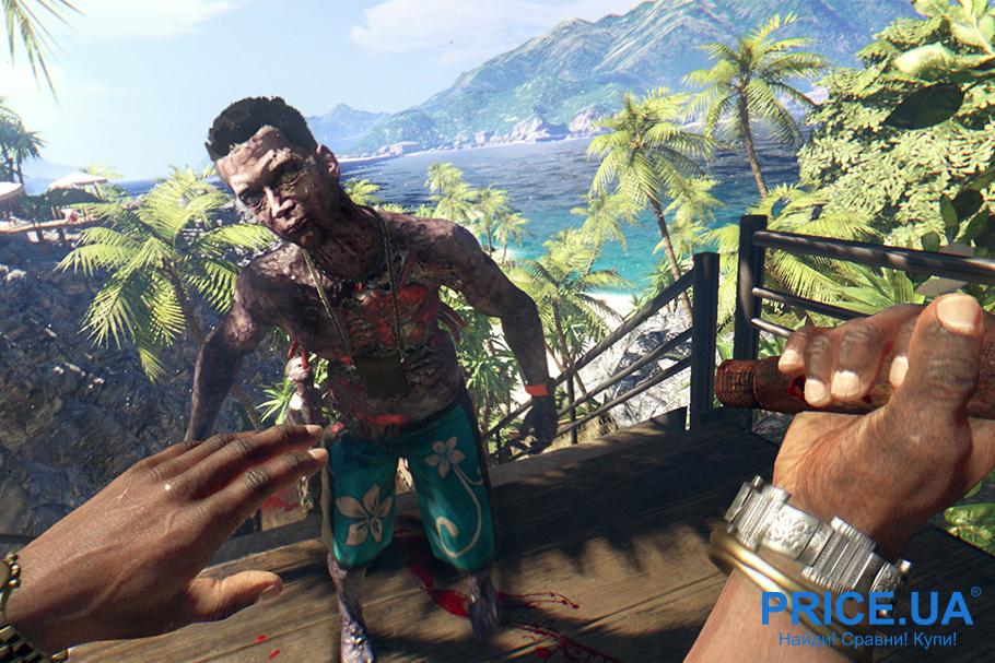 Лучшие 9 видеоигр про зомби. Dead Island